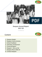 Deepam Annual Report 2017-18