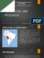 Formación de La Altiplano