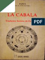 205 - Papus - La Cabala.pdf