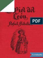 La Piel Del Leon - Rafael Sabatini