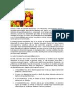 Qué Se Entiende Por Seguridad Alimentaria