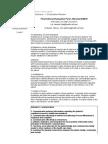 fundamentals evaluation