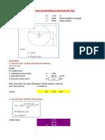 Dimensionamiento de Alcantarilla Circular