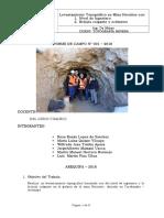 Informe Levantamiento Topografico Brujula Colgante Hornitos