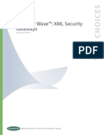 Wave XML Security Gateways