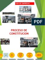 Constitucion de Una Empresa.- Proceso