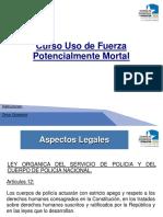 USO DE LA FUERZA POTENCIALMENTE MORTAL