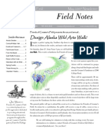 Summer 2007 Field Notes Newsletter, Friends of Creamer's Field