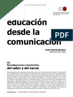 La educacion desde - Martin Barbero.pdf