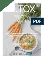 D.tox Program Guide