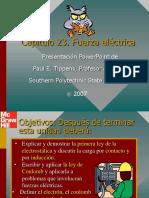 Tippens Fisica  Diapositivas 23 FuerzaElectrica