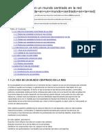 Fundamentos-redes - Tema 1. La Vida en Un Mundo Centrado en La Red