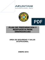 Plan Preparacion y Respuesta Emergencias