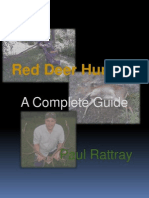 36997059 Red Deer Hunting a Complete Guide Excerpt