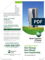 ECA Geothermal Heat Pump Brochure