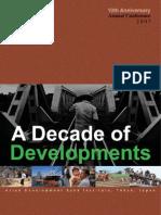 Decade of Developments