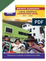 Pdc Ayahuanco 2017 - 2030