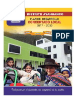 Pdc Ayahuanco 2017 - 2030