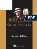 Hilbert Space and Quantum Mecha - Franco Gallone