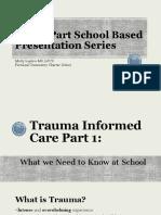 trauma informed care presentation for staff
