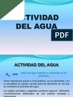 Actividad de Agua Clase 3