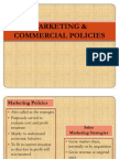 Marketing & Commercial Policies Baru