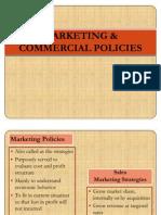 Marketing & Commercial Policies Baru