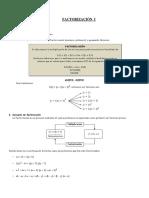 Ficha de Algebra - Secundaria