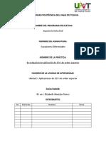 Práctica 5 EDO IIS Oct 2018