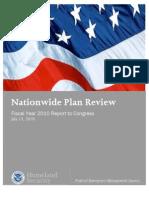 FEMA Nationwide Plans Review 2010