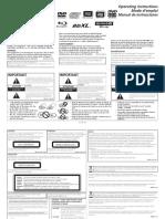 BDR-211UBK Owner Manual