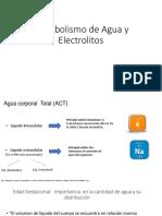 Metabolismo de Agua y Electrolitos Ed. 9999