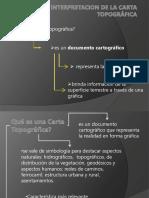 Interpretacion de La Carta Topografica