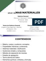 Materia y Energía ( introduccion al a quimica