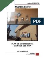 Uvk Caminos Del Inca_plan de Contingencia_final
