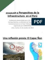 Presentación Del Sr. Enrique Cornejo