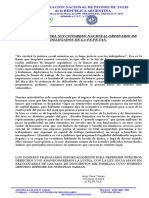 Declaracion XVI Congreso Julio 2018 FE.PE.TAX.
