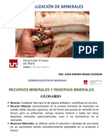 CAP 1 UPN - comercialización de minerales