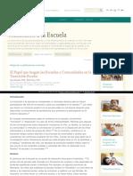 Http Www Enciclopedia Infantes Com Transicion La Escuela Segun Los Expertos El Papel Que Juegan Las Escuelas y Comunidades en La