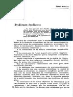 Althusser, Louis - Problèmes étudiants (NC 1964)