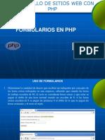 Ejercicios Php Formularios
