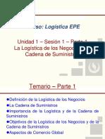 UPC EPE LOGISTICA Unidad 1 Sesion 1 La Logistica de Los Negocios Estrategia y Planeación