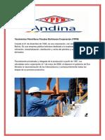 YPFB ANDINA....Yacimientos Petrolíferos Fiscales Bolivianos