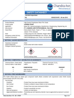 MSDS HDPE