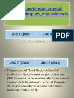 JNC 8 Hipertensión Arterial