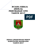 Rencana Kerja Perubahan OPD 2017