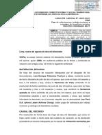 Casación 14239 2015 Lima Sobretasa No Constituye Incremento Remunerativo y Solo Es Aplicable Para Trabajo Nocturno y de RMV