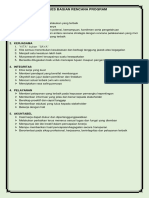 Values Bagian Rencana Program