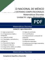 U3 - MD - Logica Matematica