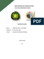 yacimientos metálicos  informe